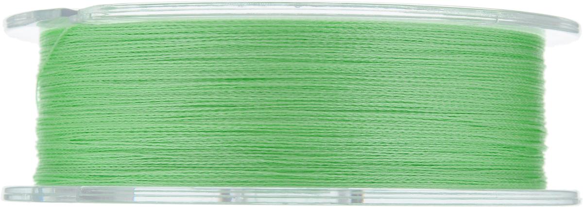 """Леска плетеная Allvega """"Ultimate"""", цвет: светло-зеленый, 135 м, 0,20 мм, 12,7 кг"""