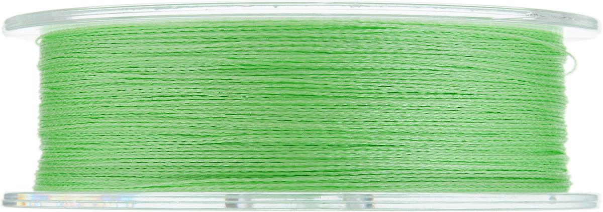 """Леска плетеная Allvega """"Ultimate"""", цвет: светло-зеленый, 92 м, 0,28 мм, 19,8 кг"""