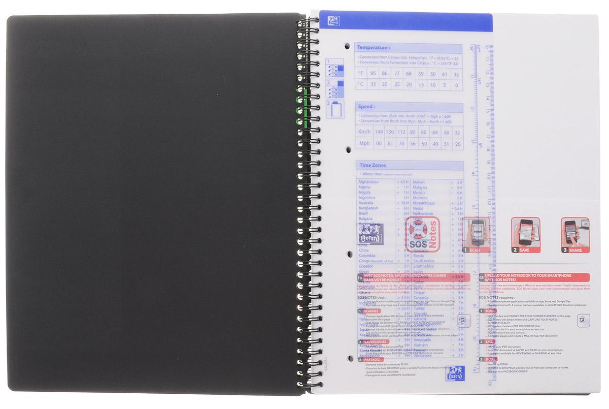 Oxford Тетрадь Sos Notes Activebook 80 листов в линейку цвет фиолетовый