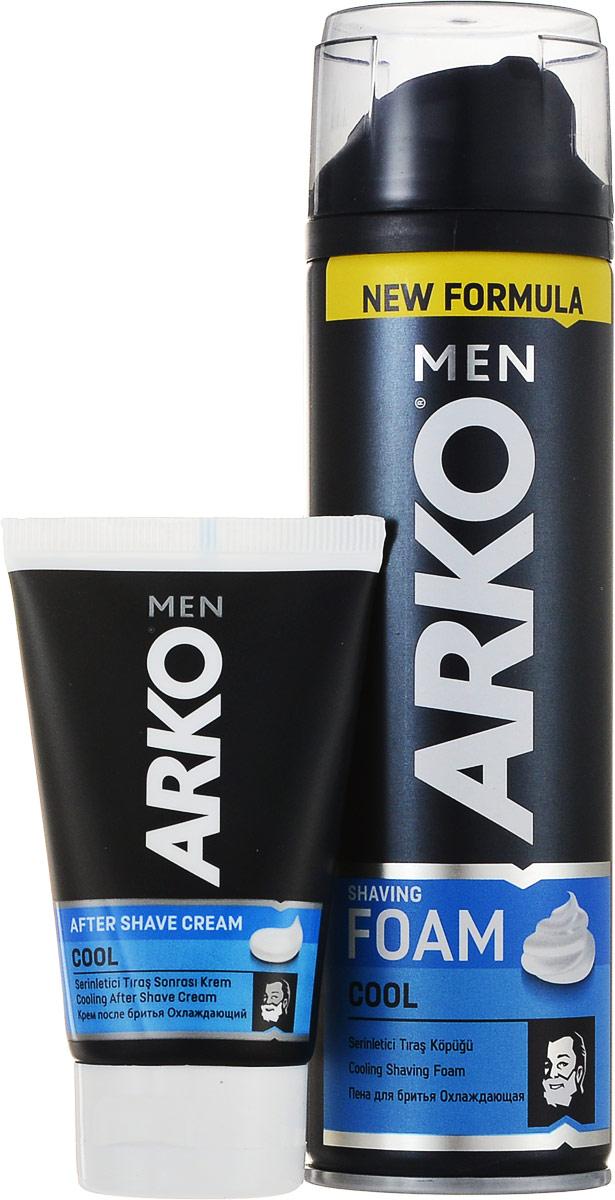 Arko Cool: Пена 200мл+ КРЕМ после бритья 50 мл