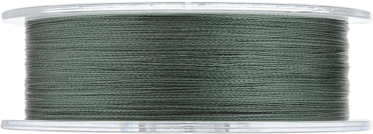 """Леска плетеная Allvega """"Ultimate"""", цвет: темно-зеленый, 135 м, 0,18 мм, 11,3 кг"""