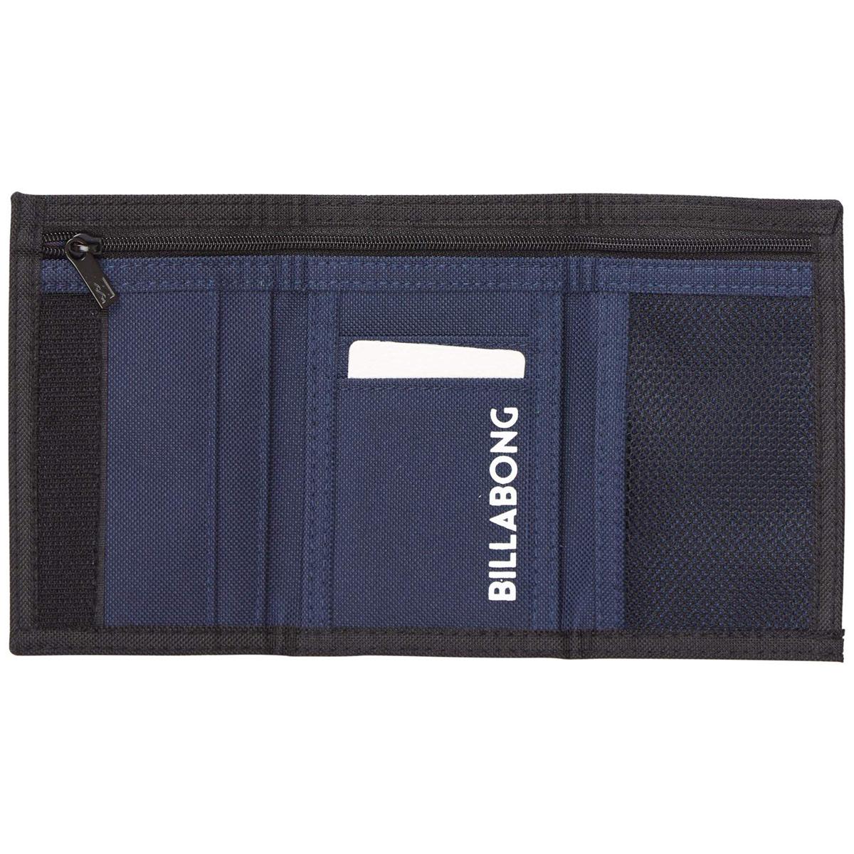 """Кошелек дорожный Billabong """"Atom Wallet"""", цвет: оранжевый, синий, 1 л. Z5WL02"""