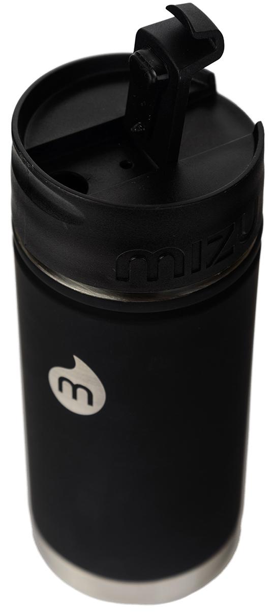 """Термобутылка для жидкостей Mizu """"V5"""", цвет: черный, 500 мл"""