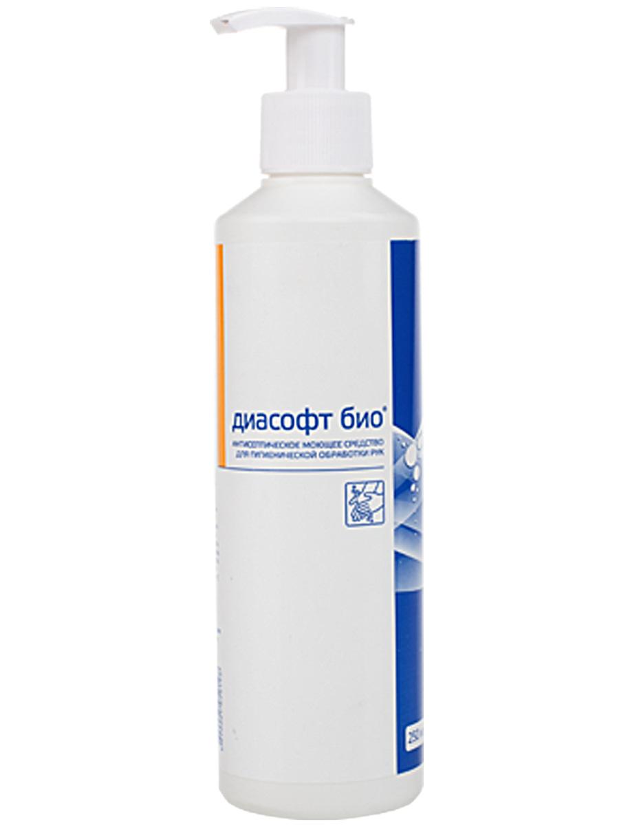Антибактериальное жидкое мыло Диасофт био, 250 мл (ИНТЕРСЭН-ПЛЮС)