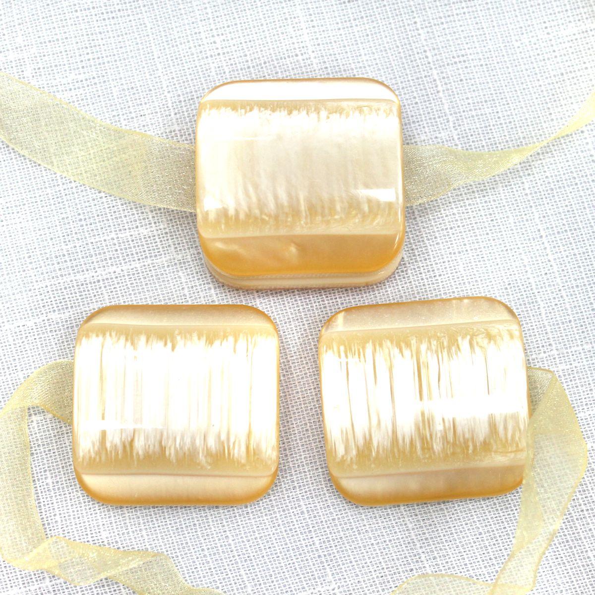 """Подхват для штор TexRepublic """"Ajur. Lenta"""", на магнитах, цвет: золотистый, 2 шт. 79013"""