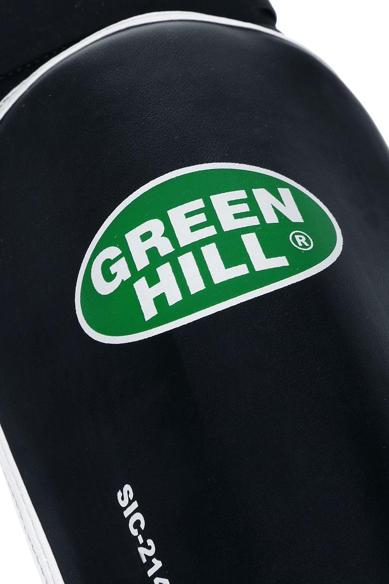"""Защита голени и стопы Green Hill """"Cover"""", цвет: черный, белый. Размер S. SIС-2141"""
