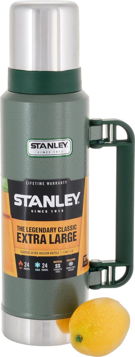 "Термос Stanley ""Classic Vac Bottle Hertiage"", цвет: зеленый, 1,3 л"
