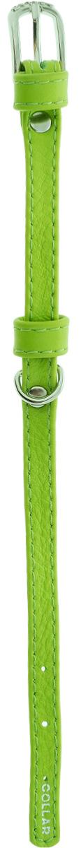 """Ошейник для собак """"CoLLaR Glamour"""", цвет: зеленый, ширина 9 мм, обхват шеи 18-21 см. 3200"""