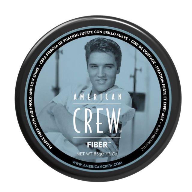 American Crew Паста высокой фиксации с низким уровнем блеска Fiber Gel 85 г