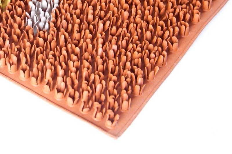 """Коврик """"Sindbad"""", напольный, цвет: оранжевый, 45 х 75 см. FRD 710T"""