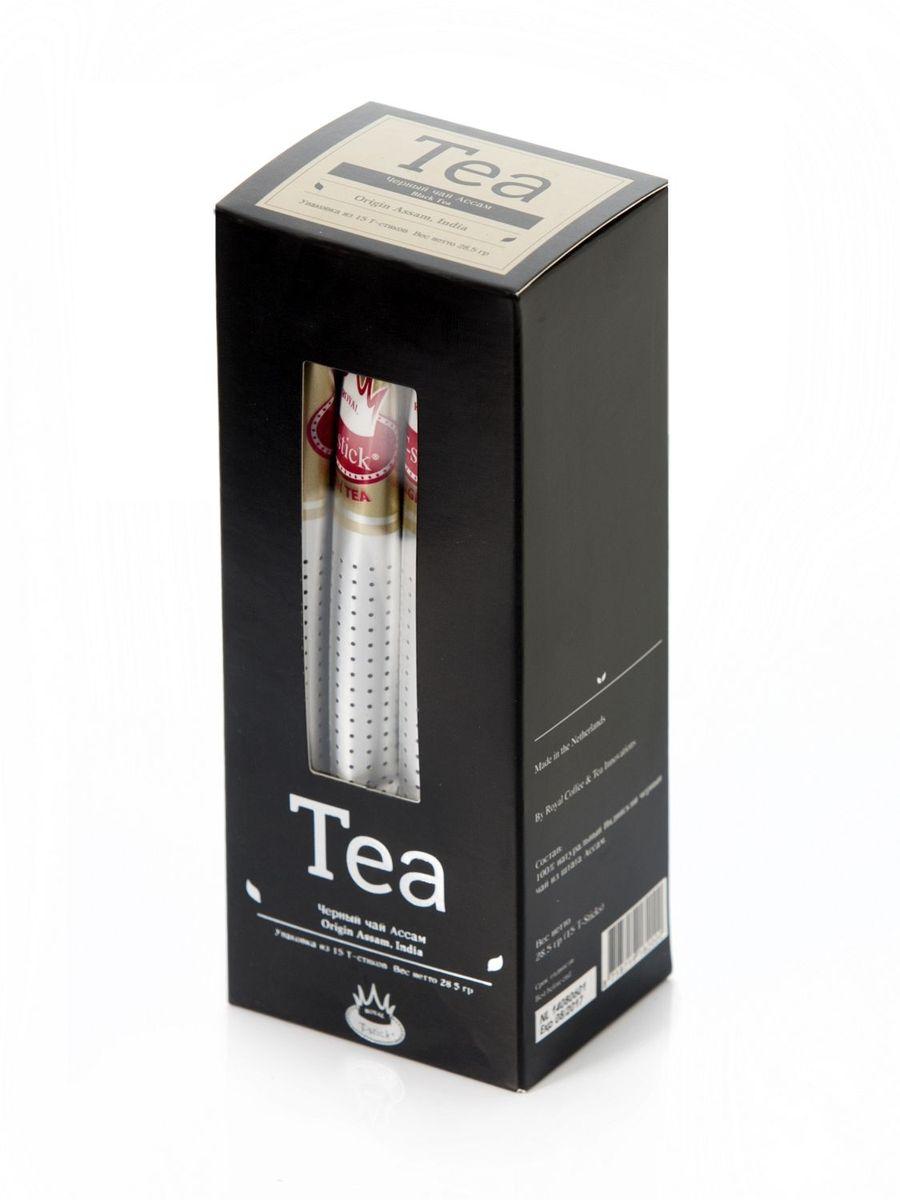 Подарочный набор Royal T-Stick: Mint Green Tea зеленый чай и High Tea черный чай в стиках, 30 шт