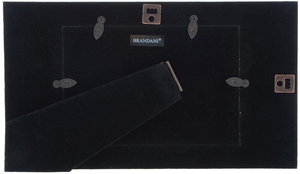 """Фоторамка """"Brandani"""", цвет: белый, 9 х 13 см"""