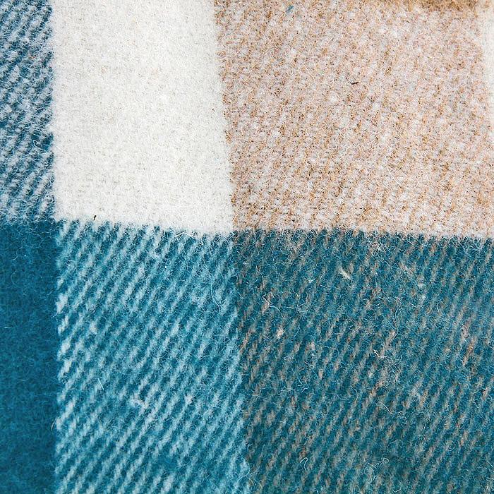"""Плед """"Пиросмани"""", цвет: зеленый, бежевый, белый, 170 х 200 см. 1-207-170_13"""