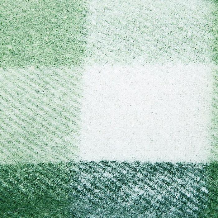 """Плед """"Пиросмани"""", цвет: зеленый, белый, 170 х 200 см. 1-207-170_04"""