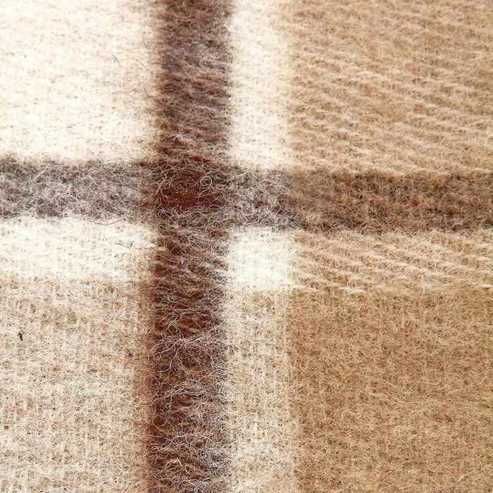"Плед ""Страдивари"", цвет: бежевый, коричневый, 140 х 200 см. 1-202-140_02"