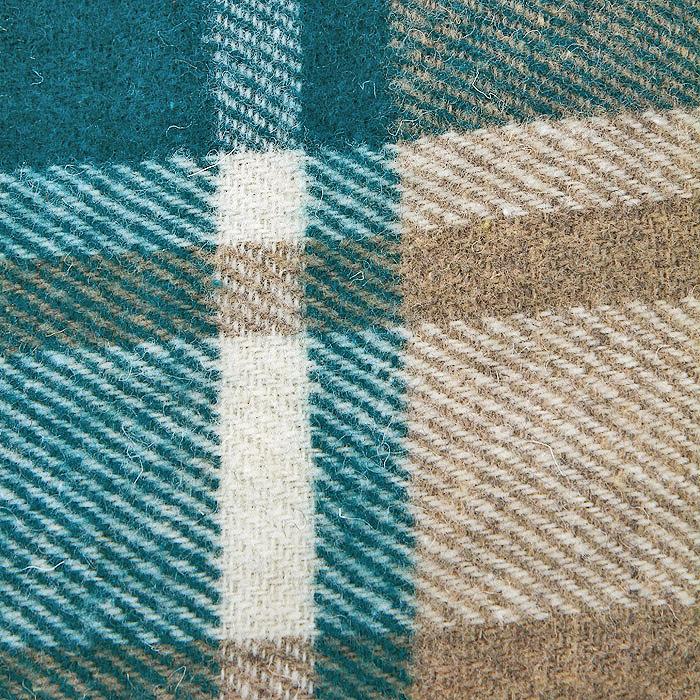 "Плед ""Страдивари"", цвет: зеленый, белый, бежевый, 170 х 200 см. 1-203-170_03"