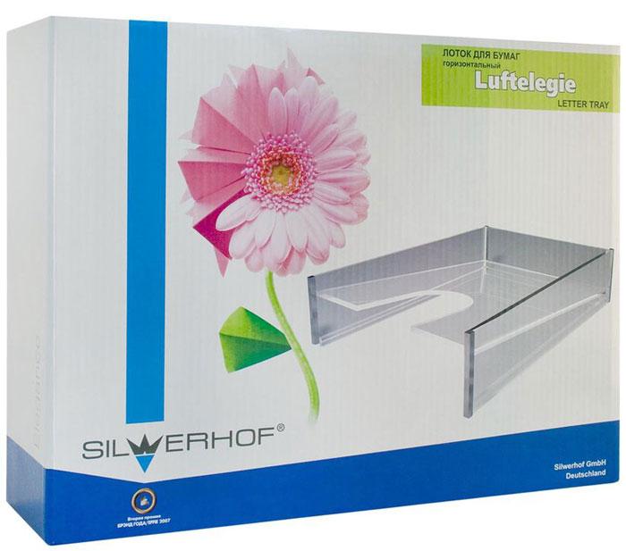 Silwerhof Лоток для бумаг Luftelegie цвет прозрачный 1 отделение