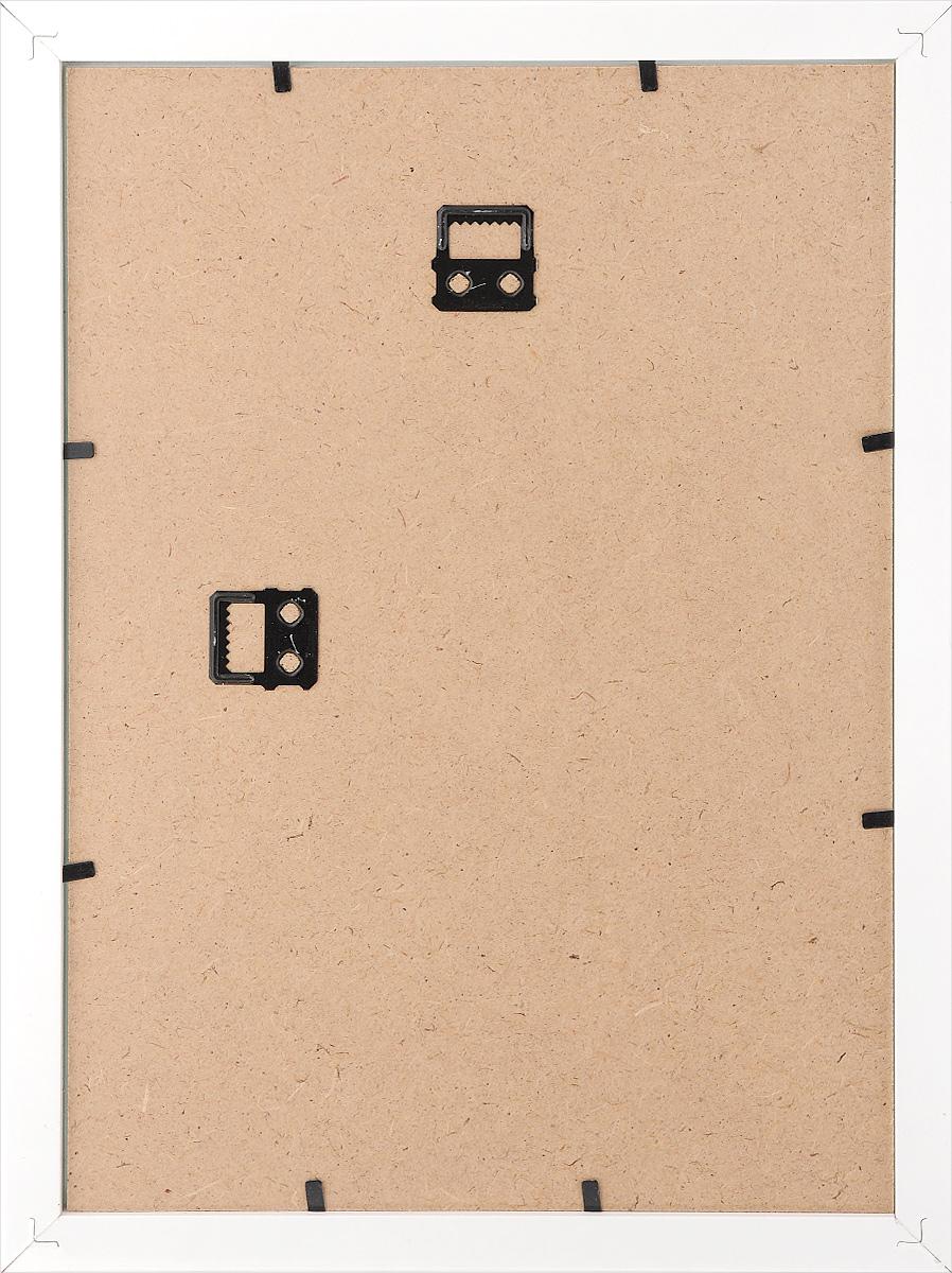 "Фоторамка Tabula Rossa ""Глянец"", цвет: белый, 21 х 30 см. ТР 50"