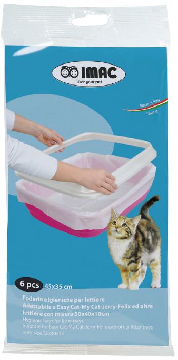 """Пакеты для туалета IMAC """"Clean Up"""", 45х35 см, 6 шт"""