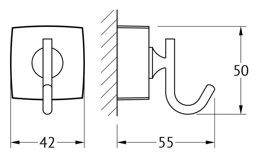 Крючок для ванной FBS Esperado, цвет: хром. ESP 001ESP 001Аксессуары торговой марки FBS производятся на заводе ELLUX Gluck s.r.o., имеющем 20-летний опыт работы. Предприятие расположено в Злинском крае, исторически знаменитом своим промышленным потенциалом. Компоненты из всемирно известного богемского хрусталя выгодно дополняют серии аксессуаров. Широкий ассортимент, разнообразие форм, высочайшее качество исполнения и техническое?совершенство продукции отвечают самым высоким требованиям. Продукция FBS представлена на российском рынке уже более 10 лет и за это время успела завоевать заслуженную популярность у покупателей, отдающих предпочтение дорогой и качественной продукции.