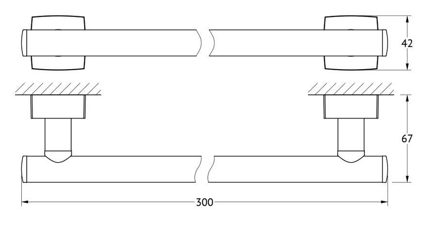 Штанга для полотенца FBS Esperado, 30 см, цвет: хром. ESP 029ESP 029Аксессуары торговой марки FBS производятся на заводе ELLUX Gluck s.r.o., имеющем 20-летний опыт работы. Предприятие расположено в Злинском крае, исторически знаменитом своим промышленным потенциалом. Компоненты из всемирно известного богемского хрусталя выгодно дополняют серии аксессуаров. Широкий ассортимент, разнообразие форм, высочайшее качество исполнения и техническое?совершенство продукции отвечают самым высоким требованиям. Продукция FBS представлена на российском рынке уже более 10 лет и за это время успела завоевать заслуженную популярность у покупателей, отдающих предпочтение дорогой и качественной продукции.