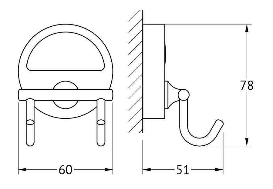 Крючок для ванной FBS Luxia, двойной, цвет: хром. LUX 002LUX 002Аксессуары торговой марки FBS производятся на заводе ELLUX Gluck s.r.o., имеющем 20-летний опыт работы. Предприятие расположено в Злинском крае, исторически знаменитом своим промышленным потенциалом. Компоненты из всемирно известного богемского хрусталя выгодно дополняют серии аксессуаров. Широкий ассортимент, разнообразие форм, высочайшее качество исполнения и техническое?совершенство продукции отвечают самым высоким требованиям. Продукция FBS представлена на российском рынке уже более 10 лет и за это время успела завоевать заслуженную популярность у покупателей, отдающих предпочтение дорогой и качественной продукции.