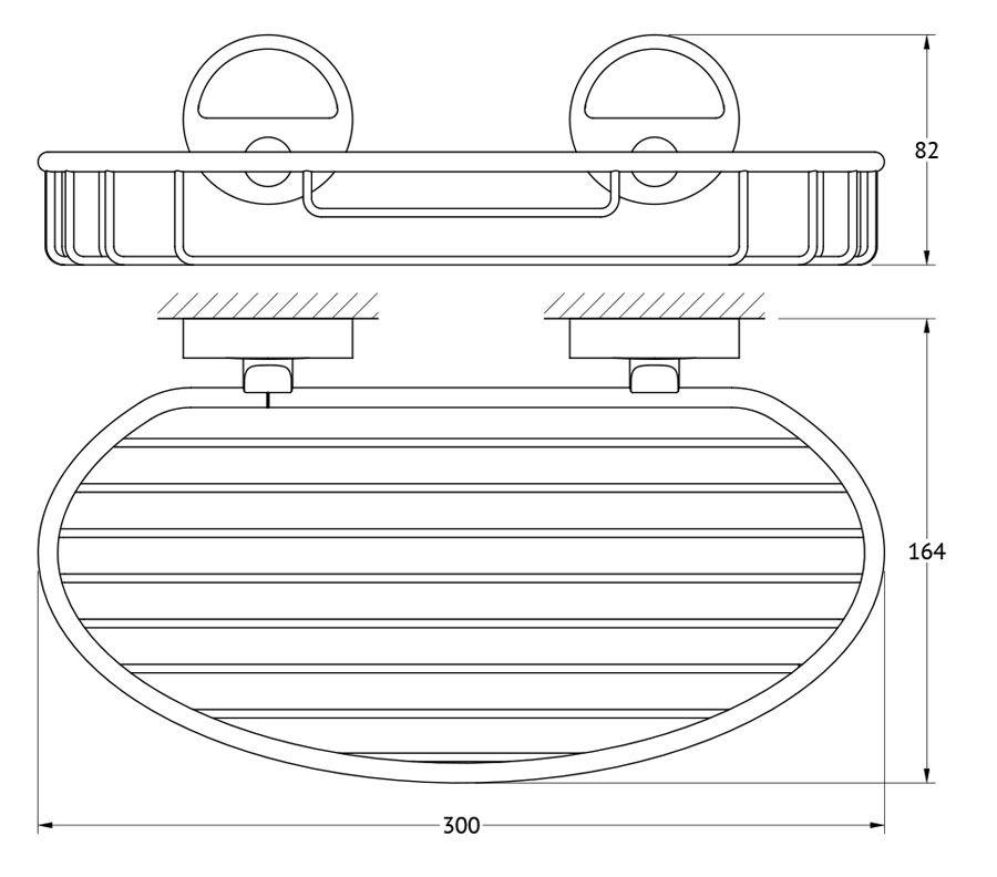 Полочка-решетка для ванной FBS Luxia, 30 см, цвет: хром. LUX 049LUX 049Аксессуары торговой марки FBS производятся на заводе ELLUX Gluck s.r.o., имеющем 20-летний опыт работы. Предприятие расположено в Злинском крае, исторически знаменитом своим промышленным потенциалом. Компоненты из всемирно известного богемского хрусталя выгодно дополняют серии аксессуаров. Широкий ассортимент, разнообразие форм, высочайшее качество исполнения и техническое?совершенство продукции отвечают самым высоким требованиям. Продукция FBS представлена на российском рынке уже более 10 лет и за это время успела завоевать заслуженную популярность у покупателей, отдающих предпочтение дорогой и качественной продукции.