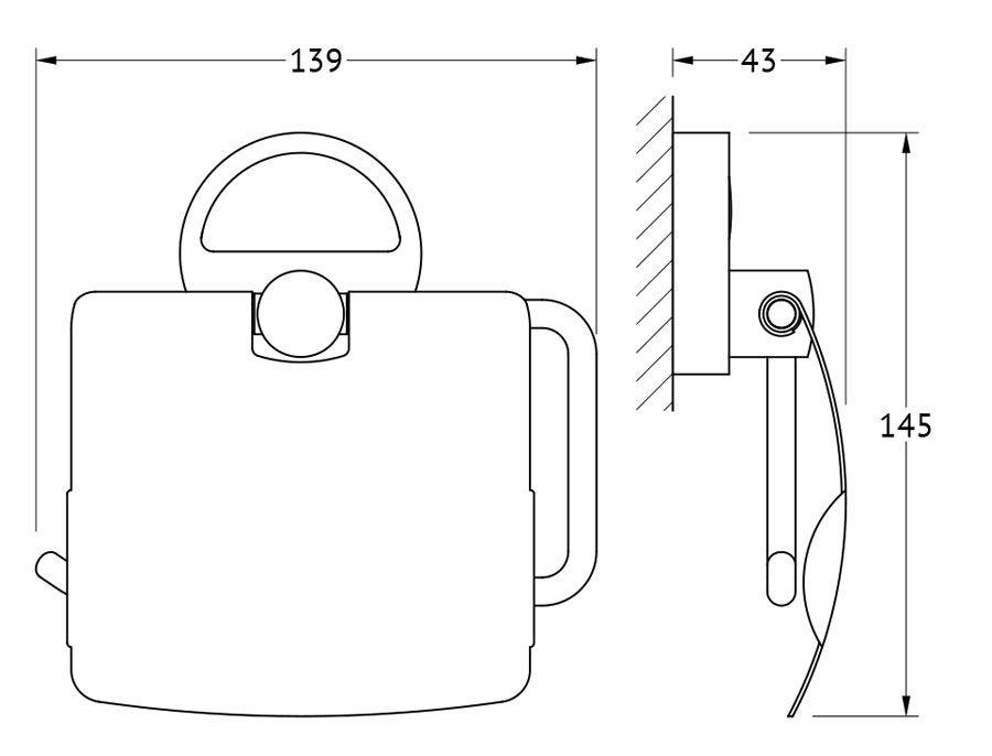 Держатель туалетной бумаги с крышкой FBS Luxia, цвет: хром. LUX 055LUX 055Аксессуары торговой марки FBS производятся на заводе ELLUX Gluck s.r.o., имеющем 20-летний опыт работы. Предприятие расположено в Злинском крае, исторически знаменитом своим промышленным потенциалом. Компоненты из всемирно известного богемского хрусталя выгодно дополняют серии аксессуаров. Широкий ассортимент, разнообразие форм, высочайшее качество исполнения и техническое?совершенство продукции отвечают самым высоким требованиям. Продукция FBS представлена на российском рынке уже более 10 лет и за это время успела завоевать заслуженную популярность у покупателей, отдающих предпочтение дорогой и качественной продукции.