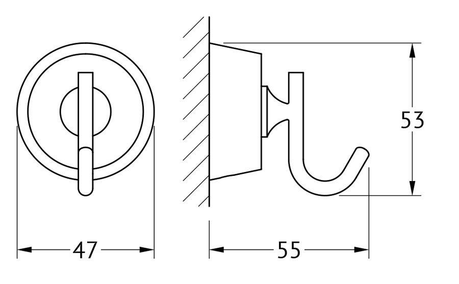 Крючок для ванной FBS Vizovice, цвет: хром. VIZ 001VIZ 001Аксессуары торговой марки FBS производятся на заводе ELLUX Gluck s.r.o., имеющем 20-летний опыт работы. Предприятие расположено в Злинском крае, исторически знаменитом своим промышленным потенциалом. Компоненты из всемирно известного богемского хрусталя выгодно дополняют серии аксессуаров. Широкий ассортимент, разнообразие форм, высочайшее качество исполнения и техническое?совершенство продукции отвечают самым высоким требованиям. Продукция FBS представлена на российском рынке уже более 10 лет и за это время успела завоевать заслуженную популярность у покупателей, отдающих предпочтение дорогой и качественной продукции.
