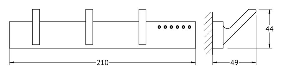 Планка с тремя крючками Lineag Tiffany Lux, цвет: хром. TIF 902TIF 902В течение 20 лет компания Lineag разрабатывает и производит эксклюзивные аксессуары для ванной комнаты, используя современные технологии и высококачественные материалы. Каждый продукт Lineag произведен исключительно в Италии. Изысканный дизайн аксессуаров Lineag создает уникальную атмосферу уюта и роскоши в вашей ванной.