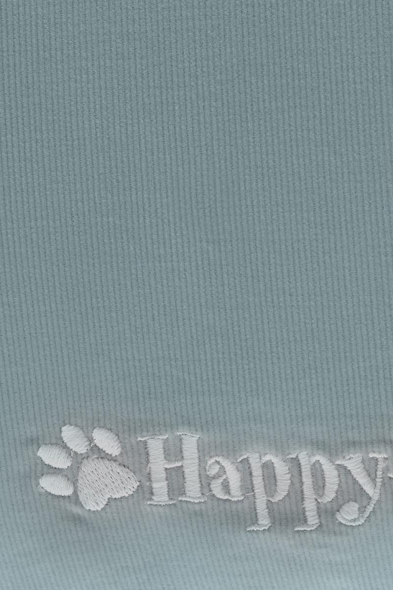 """Лежак для кошек и собак Happy House """"Happy Life"""", цвет: голубой, черный, 107 х 70 х 10 см"""