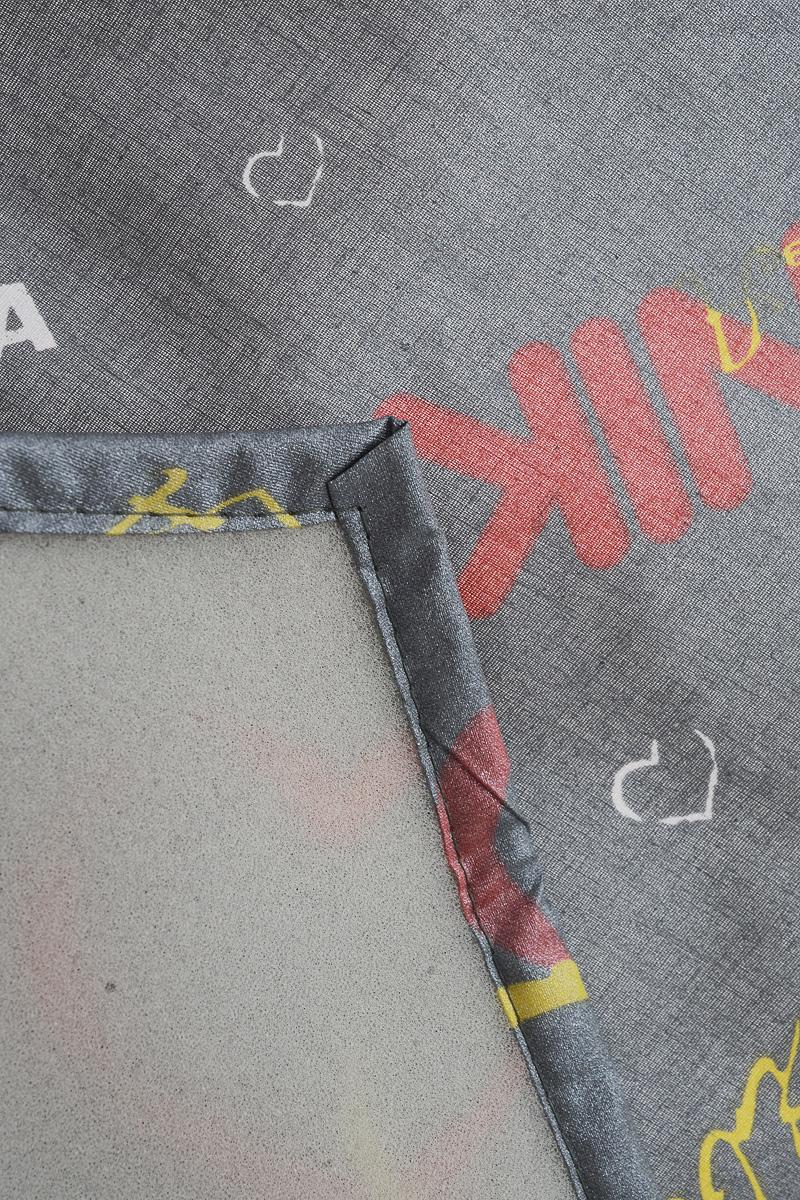 """Чехол для гладильной доски Nika """"Сердечки"""", антипригарный, с поролоном, 129 х 54 см"""