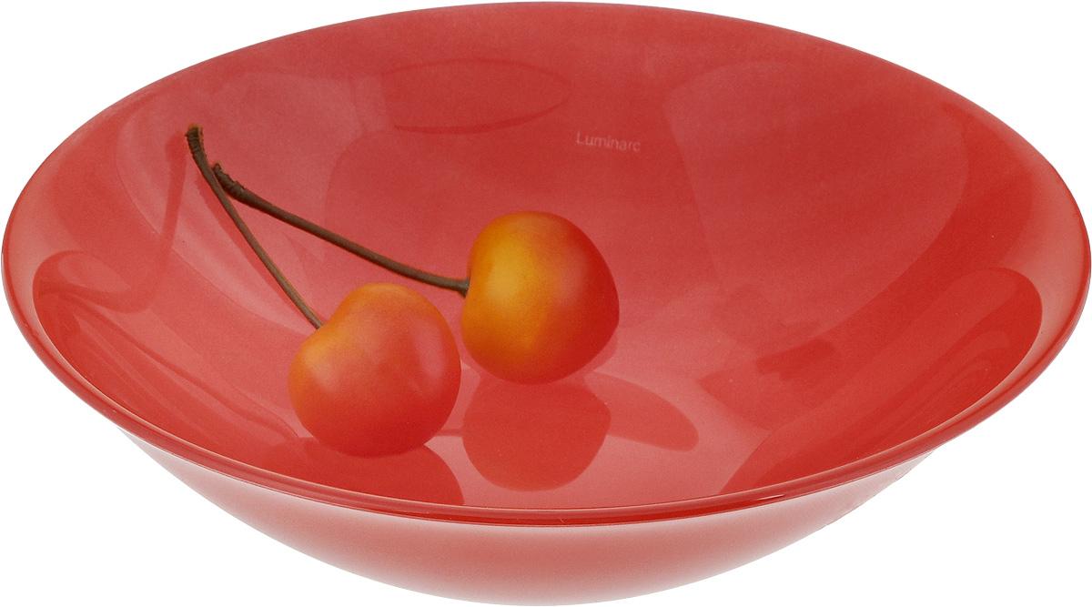 "Салатник Luminarc ""Colorama"", цвет: красный, диаметр 17 см"