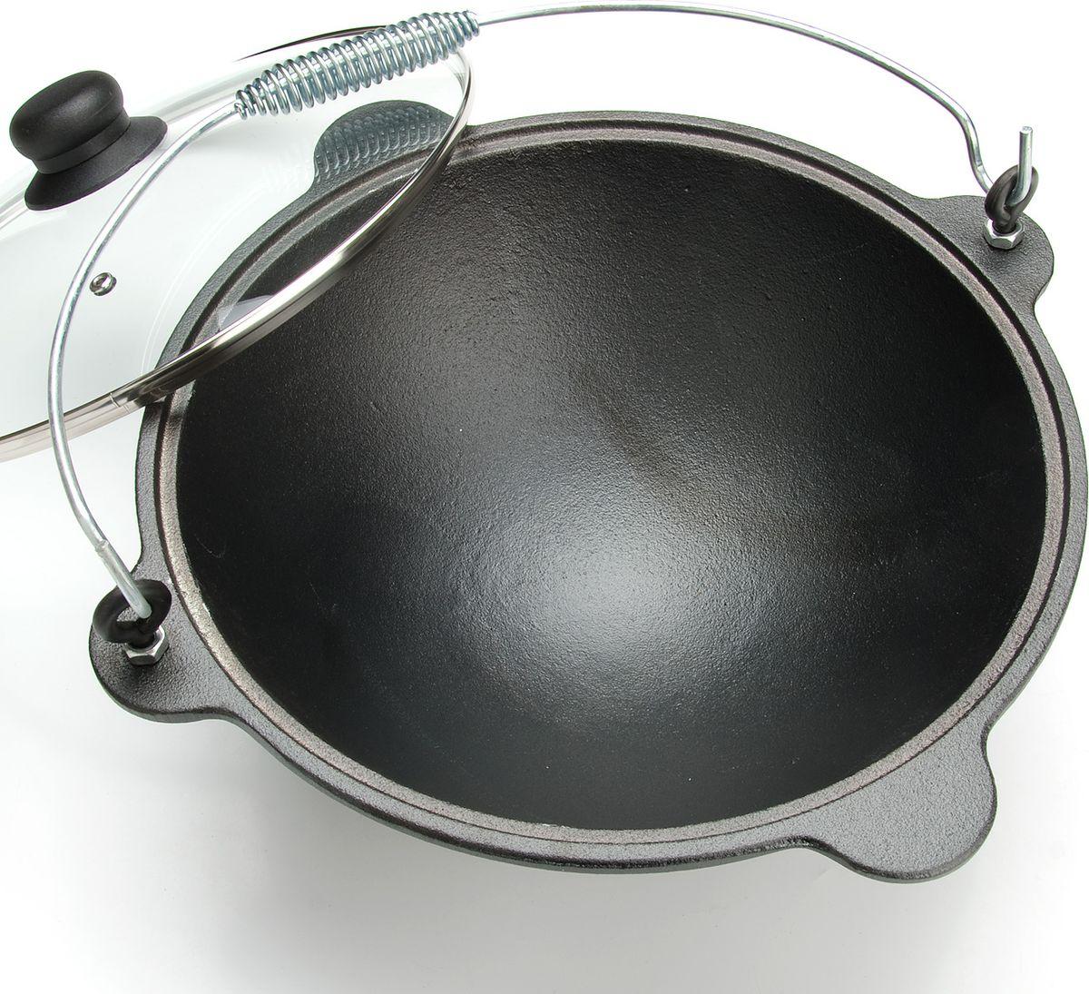 "Казан ""Mayer & Boch"", чугунный, с крышкой , диаметр 400 мм, 9 л"