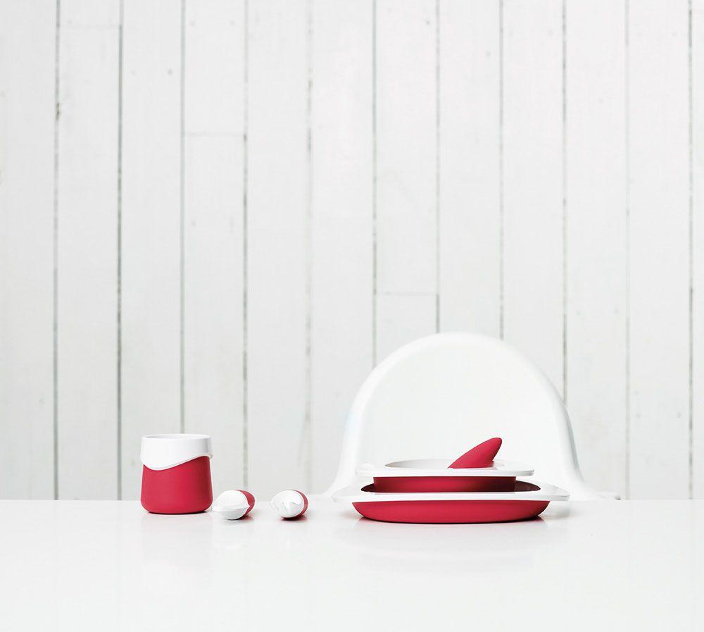 """Миска для малыша """"Fabrikators"""", цвет: красный"""