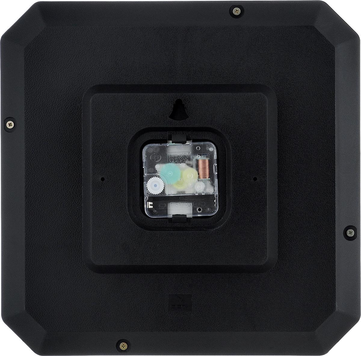 """Часы настенные Вега """"Классика"""", цвет: черный, 28 х 28 см"""