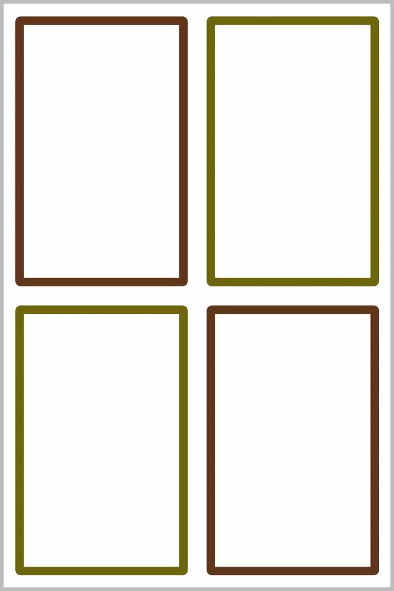 Avery Zweckform Этикетки для дома Living 47,5 х 73 мм