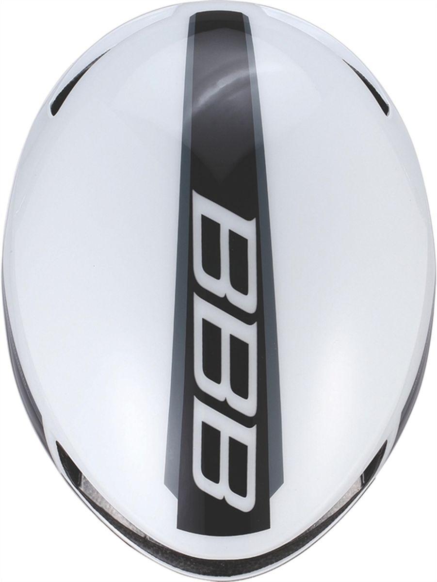 """Шлем летний BBB """"Tithon"""", цвет: белый. Размер M"""