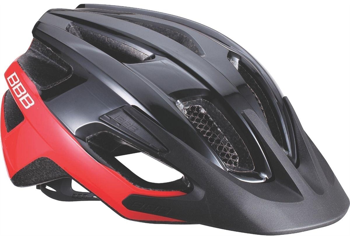 """Шлем летний BBB """"Kite"""", цвет: черный, красный. Размер L"""