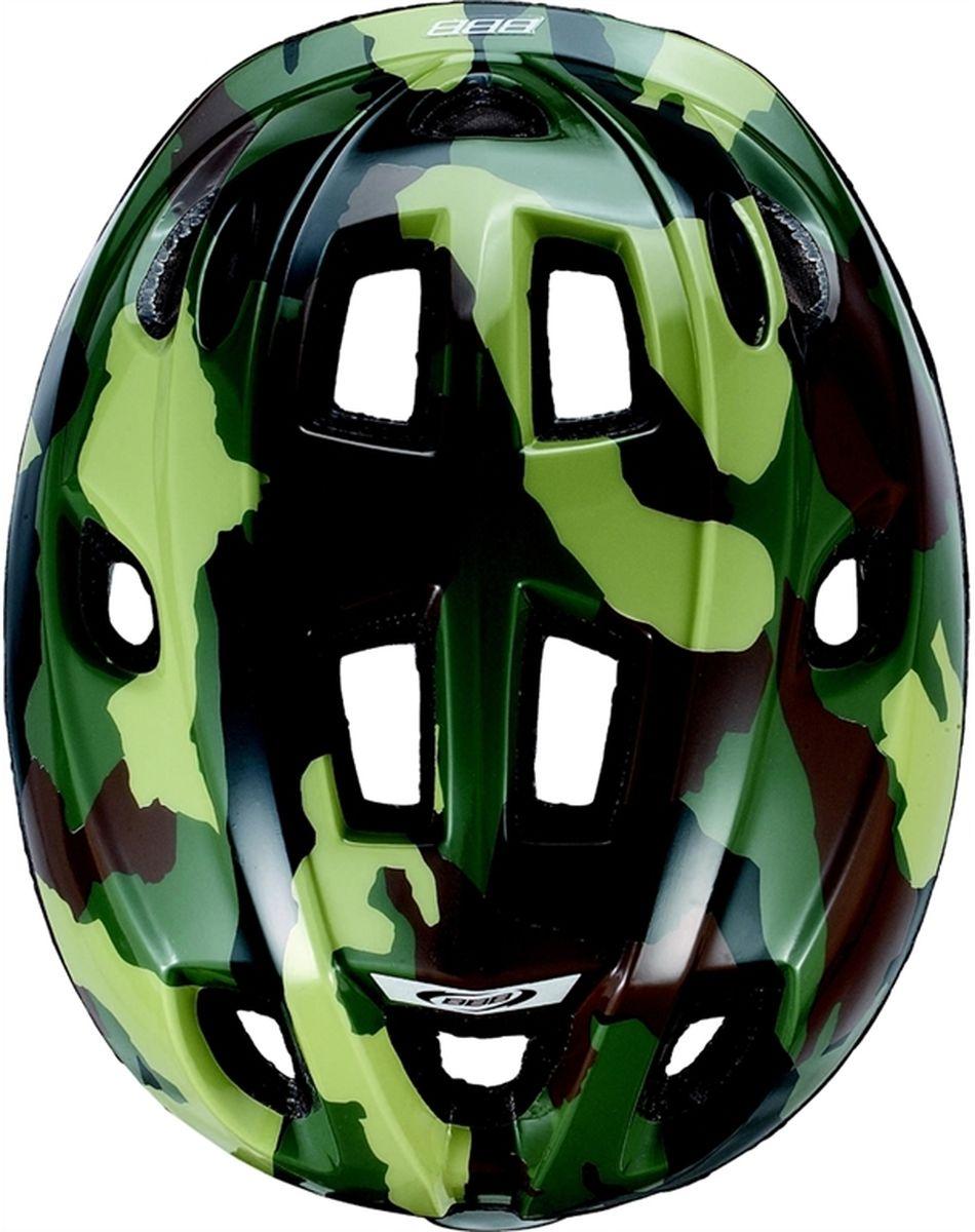 """Шлем летний BBB """"Boogy"""", цвет: зеленый камуфляж. Размер S"""