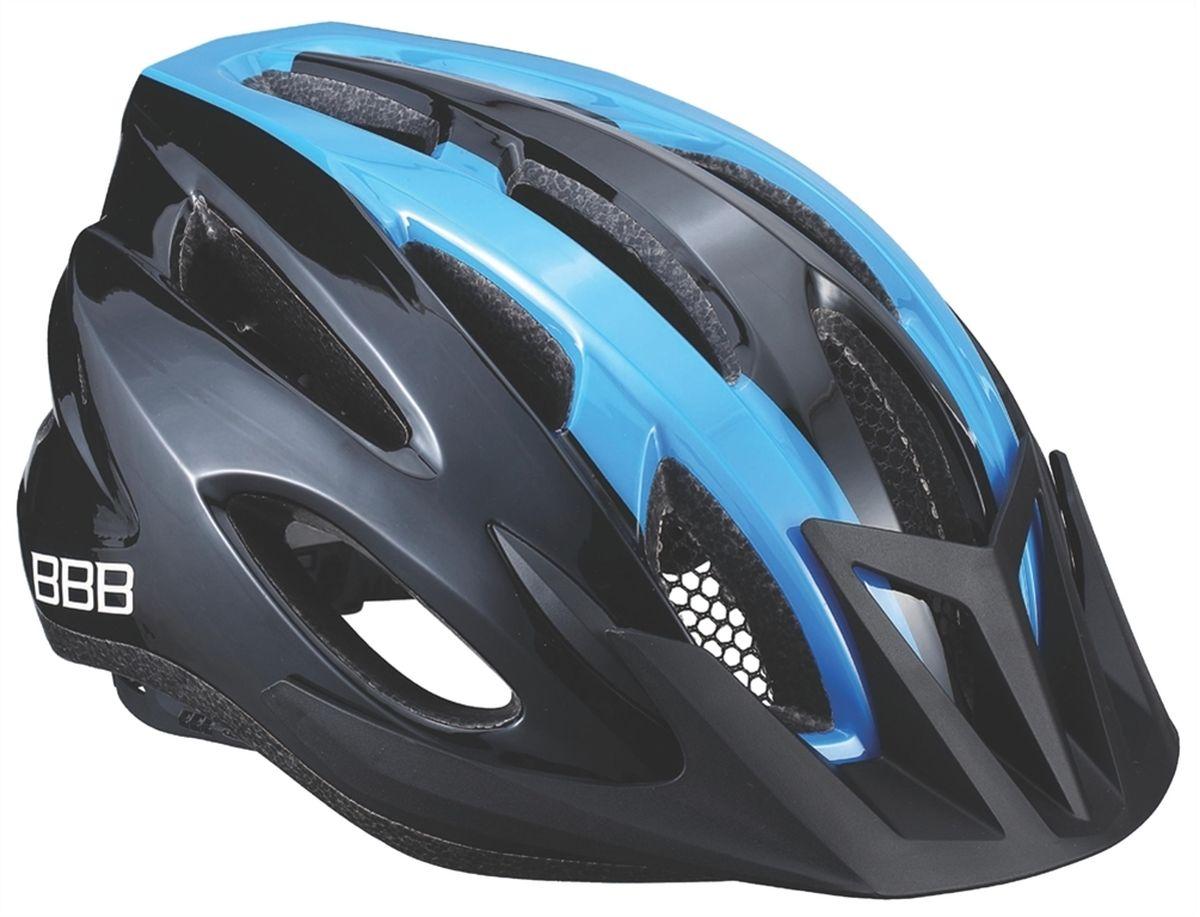 """Шлем летний BBB """"Condor"""", цвет: черный, синий. Размер L"""