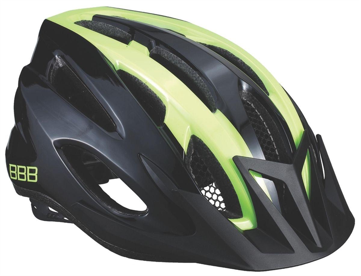 """Шлем летний BBB """"Condor"""", цвет: черный, желтый. Размер M"""