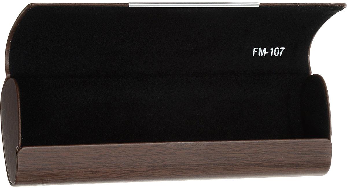 Футляр для очков Феодора Волк, цвет: коричневый. Ручная роспись. FM-107-VKFM-107-VKСтильный футляр для очков Феодора Волк выполнен из искусственной кожи и расписан вручную. Футляр закрывается на скрытый магнит. Внутренняя часть оформлена мягким бархатистым материалом.