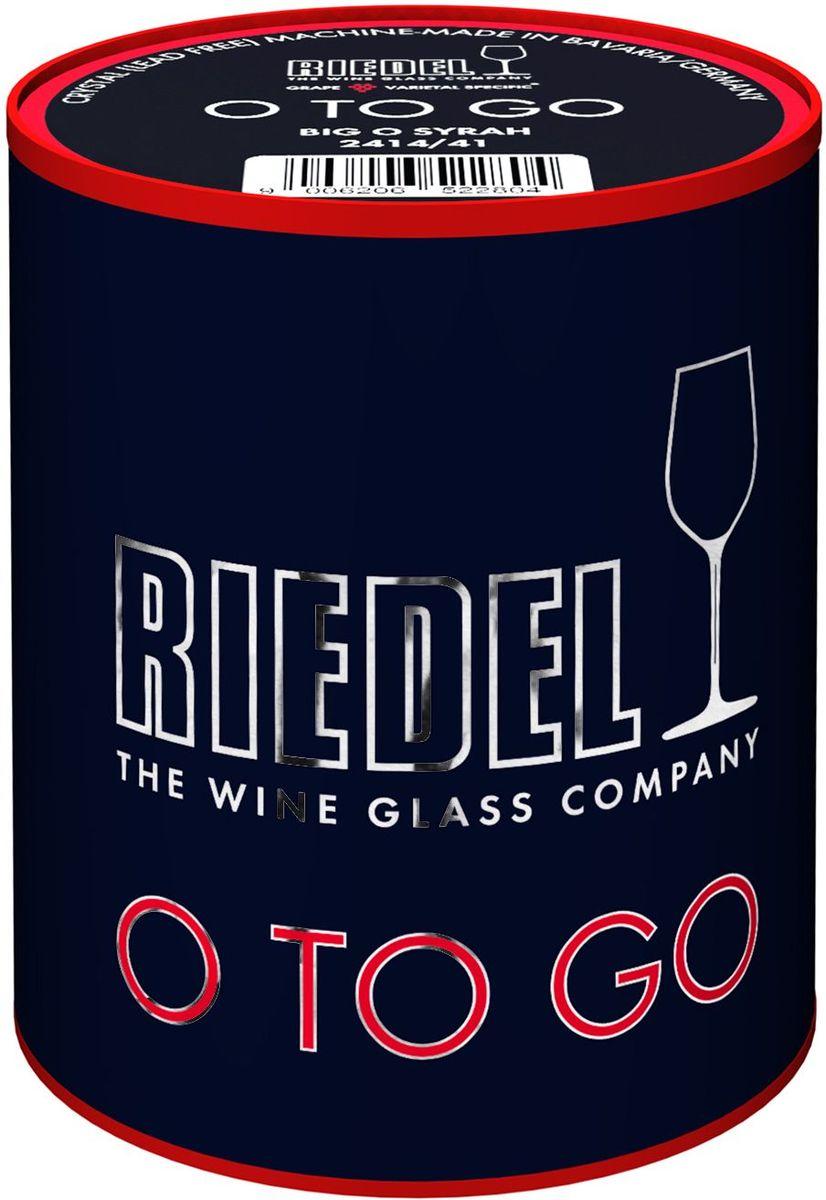 Фужер для красного вина Riedel The Big O. Syrah, цвет: прозрачный, 620 мл2414/41