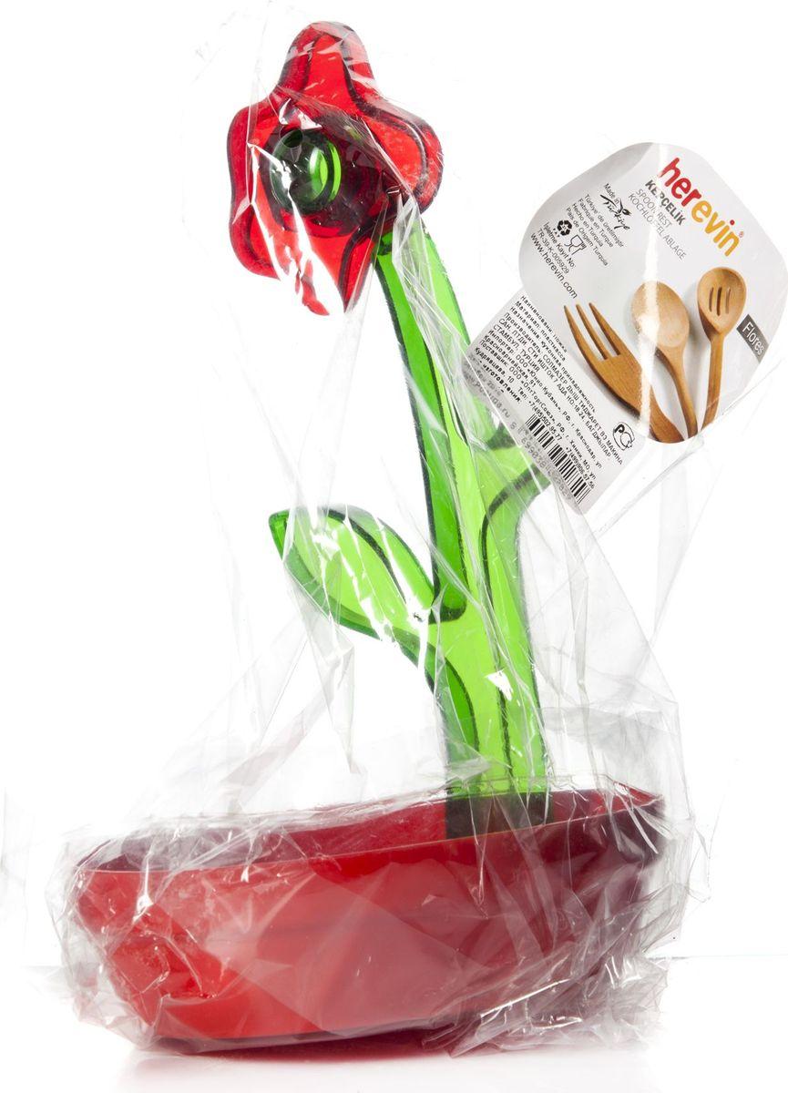 Подставка под ложку Pasabahce. 161250-000161250-000Подставка цветок, цвета в асс-те 125*155*235 мм