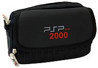 Многофункциональная cумка для приставки PSP/PSP 2000 и аксессуаров (черная)