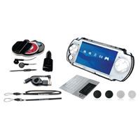 Набор аксессуаров для Sony PSP Slim&Lite Кристалл Elite 12 в 1BH-PSP02612 H(R)Набор аксессуаров для Sony PSP Slim&Lite Кристалл Elite 12в1: 1. Защитный пластиковый корпус для PSP Slim 1 шт 2. Автомобильное зарядное устройство 1 шт 3. Сворачиваемый кабель для зарядки и USB кабель для PSP Slim 1 шт 4. Футляр для хранения UMD-дисков и карт памяти Memory Stick 1 шт 5. Наушники для PSP Slim & Lite 1 шт 6. Ремешки на руку и шею для PSP Slim 2 шт 7. Защитная пленка для PSP Slim 1 шт 8. Набор сменных джойстиков для управления PSP Slim 4 шт