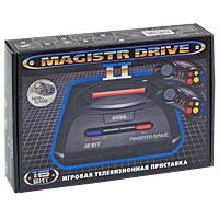 Игровая приставка Sega Magistr Drive 2 Little234-00115-1Классическая модель среди представителей своего класса, выполненная в привлекательном уменьшенном корпусе. Процессор этой приставки 16-битный, высокого быстродействия (в отличие от 8-битного процессора приставок первого поколения). Это обеспечивает качество игр на уровне аркадных игровых автоматов.