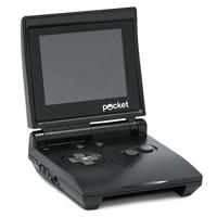 Игровая приставка DVTech Pocket, черная. 150 встренных игр