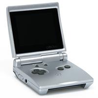 Игровая приставка DVTech Pocket, серебристая. 150 встренных игр